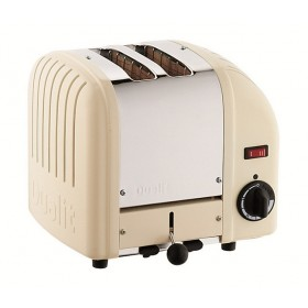 Dualit Vario 2 Slot Toaster Cream