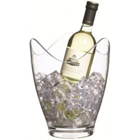 BarCraft Clear Acrylic Drinks Pail / Wine Bucket