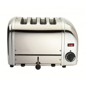 Dualit Vario 4 Slot Toaster Chrome