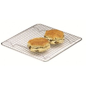 Kitchen Craft Chrome Plated Square Cake Cooling Tray