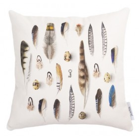 Jamida Michael Angove Feathered Cushion 48cm