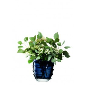 LSA Yarn Vase Blue 26cm