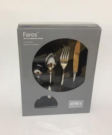 Elia Faros 24 Piece Cutlery Set
