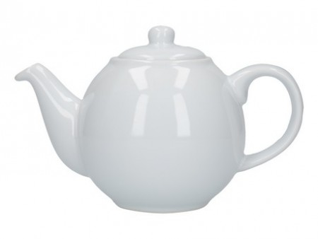 London Pottery Globe 2 Cup Teapot White
