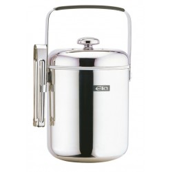 Elia Ice Bucket Pail and Tongs 1.3 Ltr
